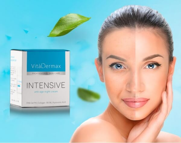 Vital Dermax Intensive Cream, woman