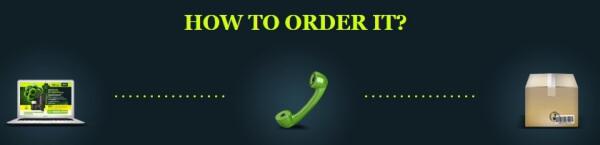 official website, order