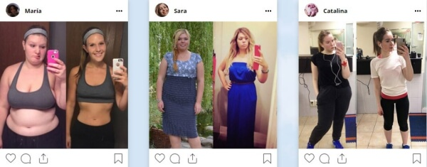 before after, weight loss