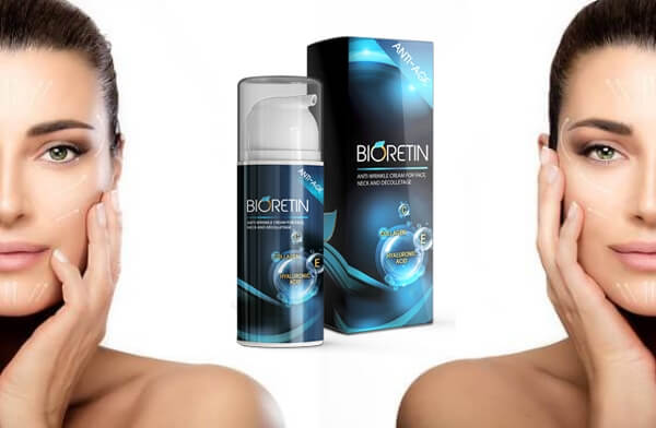 bioretin cream, woman, anti aging