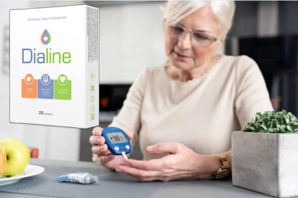 Dialine, woman, diabetes
