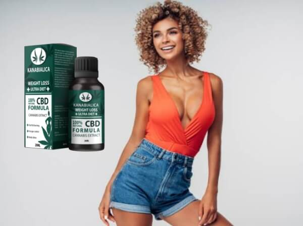 slim woman, drops, cbd formula