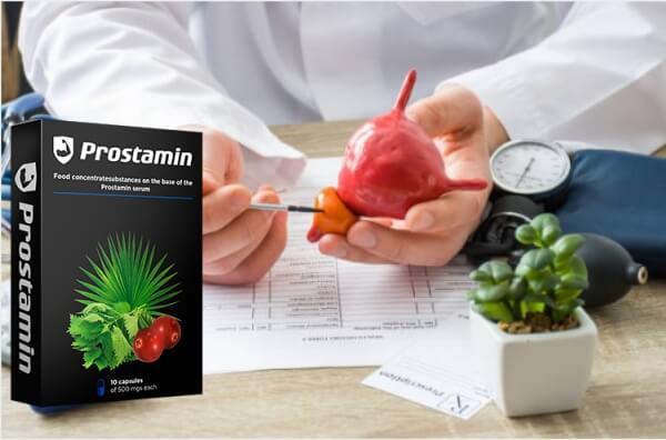 prostamin capsules, prostate, prostatitis