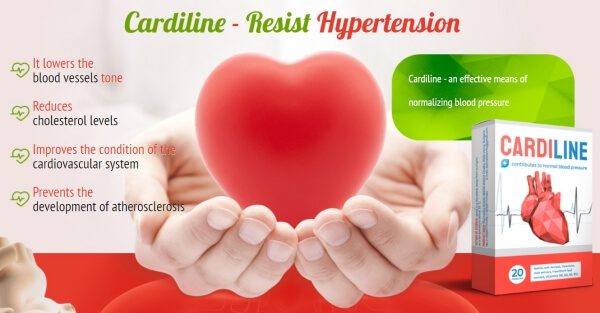 cardiline capsules, hypertension, heart
