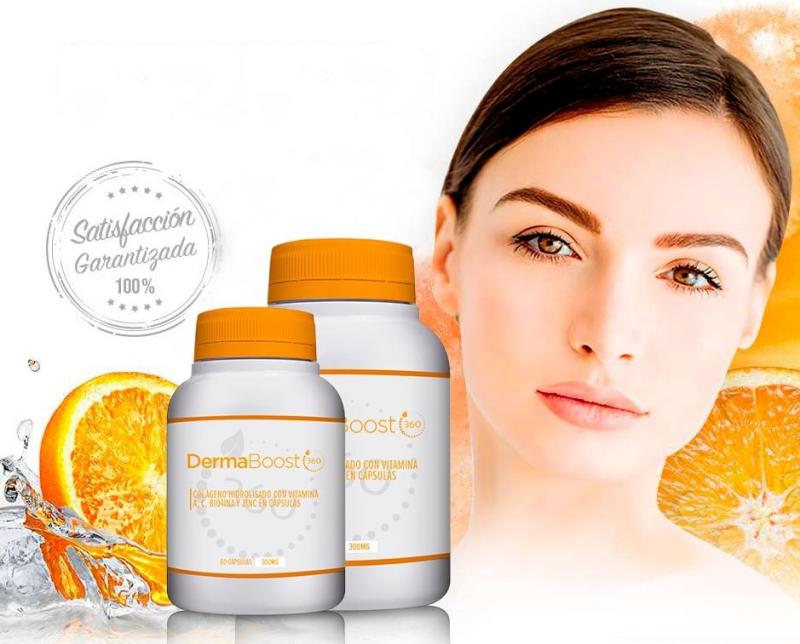 dermaboost360, capsules, woman, skin
