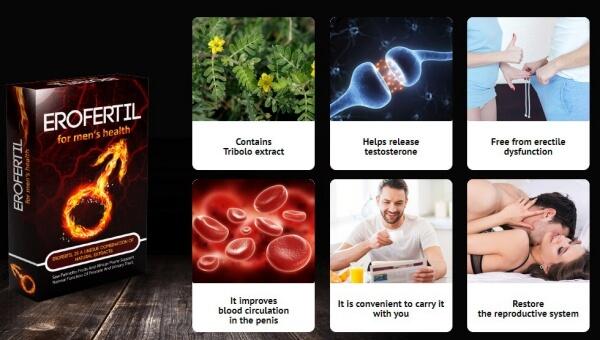 erofertil, effects, results