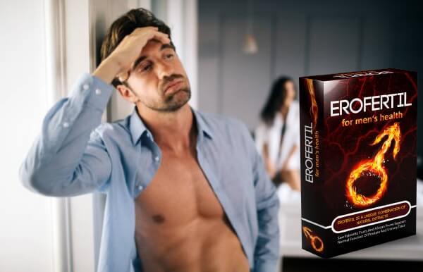 erofertil, man, erectile dysfuction, sex