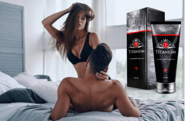 titanium gel, couple, sex, erection