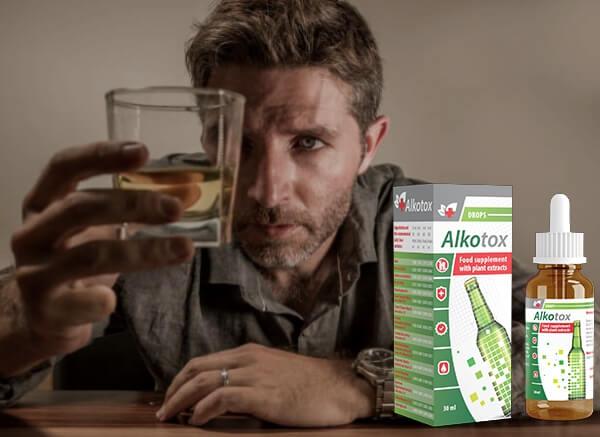 alkotox drops, man, alcoholism