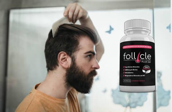 follicleplus360 capsules, man, hairloss