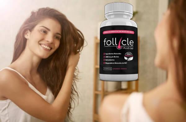 capsules, woman, hair