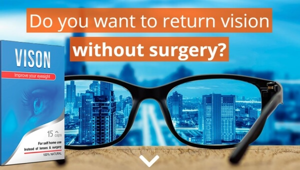 Vison capsules, glasses, vision, eye, eyesight