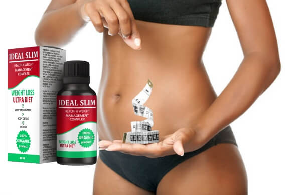 ideal slim drops, slimming, weight loss, woman