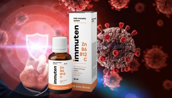 Immuten drops, immune system