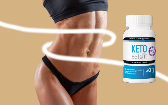 capsules, keto eat fit, woman, weight loss