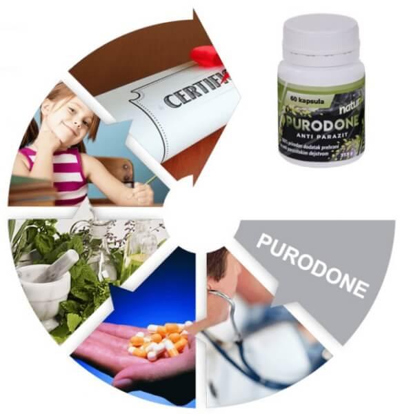 purodone, parasites, detox
