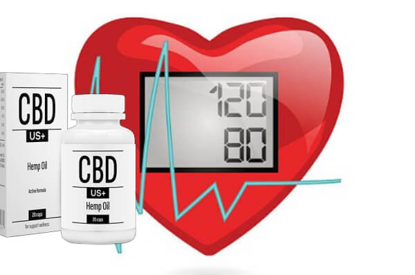 cbdus plus, capsules, blood pressure