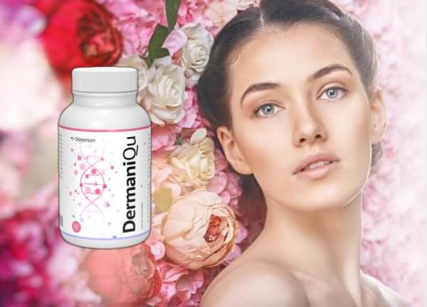 dermaniqu capsules, face, woman
