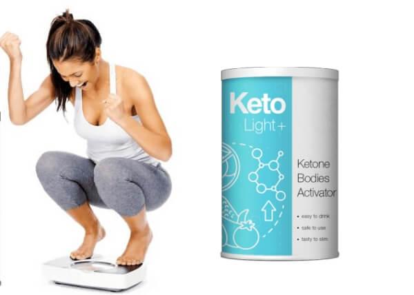 weight loss powder, woman