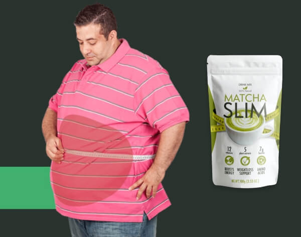 fat man, weight loss tea