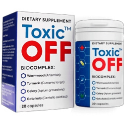 Toxic Off 20 capsules Review