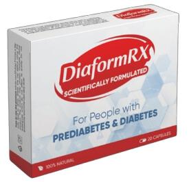 DiaformRX capsules for diabetes Review Official website