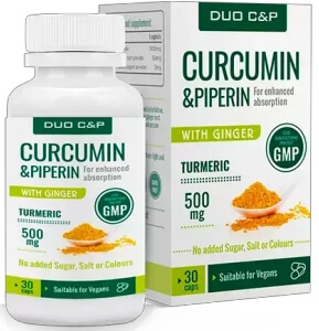 DUO C&P Curcumin & Piperin Pills Review Official Website